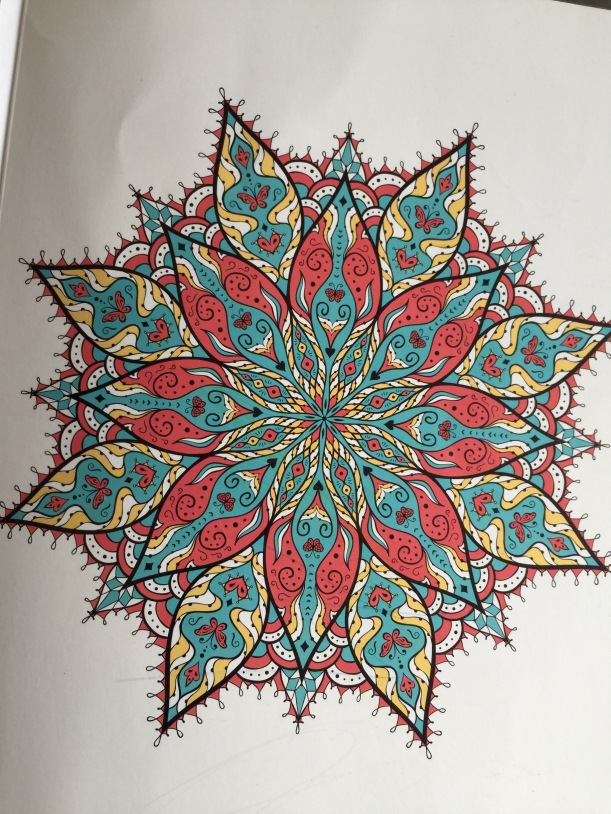 Moving mandalas make wonderful meditations